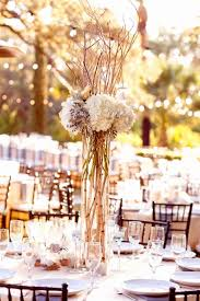 Wedding Arrangements Tall With Twigs Google Search