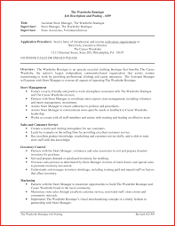 convenience store manager resume business project manager sle