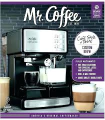 Mr Coffee Espresso Maker Manual Steam And Cappuccino Feat Me
