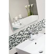 Smart Tiles Peel And Stick by Smart Tiles Muretto Prairies 10 25 In X 9 125 In Mosaic