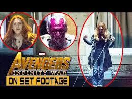 Avengers Infinity War Aerial Stunt Shooting