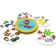 Aliexpress Buy 2018 Hot Board Game Flash Pair Animals Spot It Dog Cat With Box Family Play For Kids Children Gift Friends Card Games From Reliable