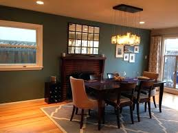 Awesome Dining Room Accent Wall And Lovely In Teal Decor