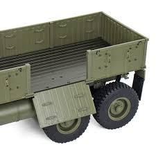 100 Rc Pulling Truck Hg P801 P802 112 24g 8x8 M983 739mm Rc Car Us Army Military Truck