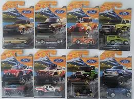 100 Ford Trucks Through The Years Amazoncom HW 2018 Set Of 8 Includes F150 And 79