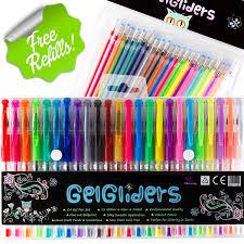 Metallic Best Gel Pens For Adult Coloring Books