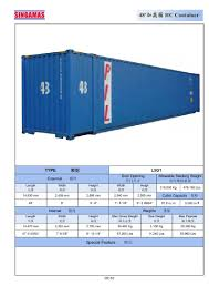 100 10 Wide Shipping Container Hot Item 48FT