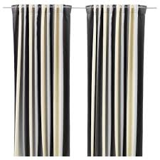 White And Gray Blackout Curtains by Curtains U0026 Blinds Ikea