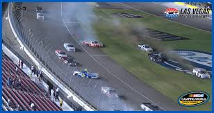 100 Las Vegas Truck Driving School The Big One Unfolds In Overtime At NASCARcom