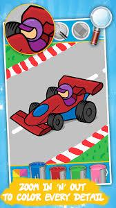 Cars Coloring Book For Kids 144 Screenshot 1