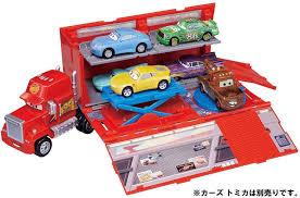 100 Disney Mack Truck Hauler Takara Tomy Tomica Pixar Cars MMaintenance Dock