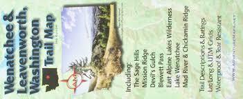 100 Coastal Wenatchee And Leavenworth WA Trail Map Adventure Map