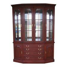 Breakfront Vs China Cabinet by Delightful Decoration Used China Cabinet Cabinets For Sale Foter