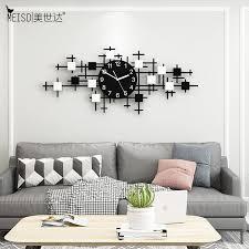 übergroßen schwarz weiß stille acryl große dekorative