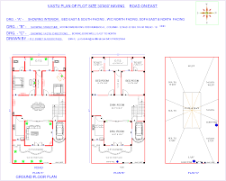 30 X 30 House Floor Plans by 30 X 60 North Facing House Plans