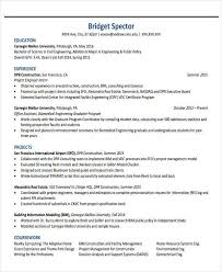 Engineering Resume Examples Pdf Archives