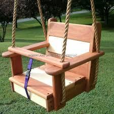 siege balancoire enfant arbre bois balançoires cerise érable enfants siège