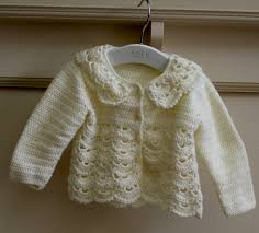 lace baby cardigan crochet pattern cashmere sweater england