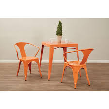 OSP Home Furnishings Patterson Orange Metal Side Chair (Set Of 4 ... Unique Zeppelin Modern Orange Ding Chair All World Fniture Room Chairs Thrghout Ppare Dennisbiltcom These Will Convince You To Go Midcentury Mariette Set Of 2 Intercon Classic Oak 7piece Solid Pedestal Miniature Hutch Table Two Antique Etsy Kenneth Fabric Hot Orange Ding Room Set Schuhekeflyknitlunar3top Cattail Bungalow 96 Warm Amber Extendable Trestle With Chairs Design Ideas