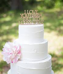 Cake Topper For Wedding Funny In Glitter Or Rustic Wood Engagement Bridal Shower Item