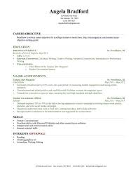 Template Powerpoint Business College Resumes Resume Examples Student Word