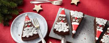 weihnachtliche kuchen torten backen