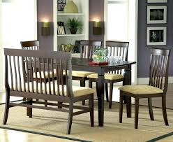 Dining Table Bench With Back Kitchen Breathtaking Set