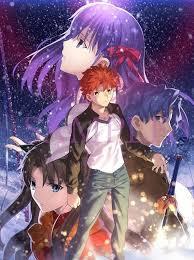 Shirou Emiya Rin Tohsaka Sakura and Shinji Matou Fate Stay Night