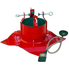Fred Meyer Christmas Tree Stand by Amazon Com Extreme Heavy Duty Steel Outdoor Christmas Tree Stand