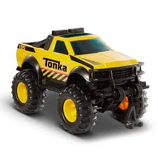 Amazon.com: Funrise Tonka Steel 4x4 Pickup Truck Vehicle: Toys & Games