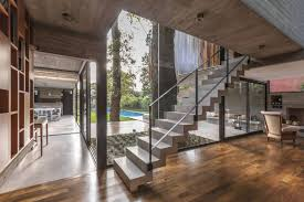 100 Modern Wooden Houses Concrete And Wood House Was Designed Around Existing Trees