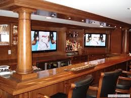 Modern Style Basement Sports Bars Basement Sports Bar Ideas