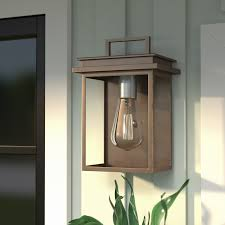 brayden studio krupa 1 light outdoor flush mount reviews wayfair