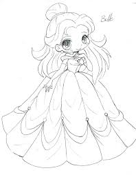 Disney Princess Coloring Pages Free Online Page Anime
