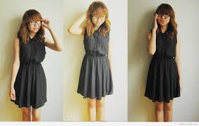 Casual Black Dress Tumblr 2015 Photos