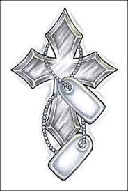Cross Tattoo By Mana Jo