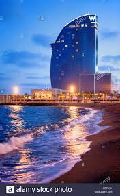 100 Barcelona W Hotel Vela By Ricardo Bofill Barceloneta Beach
