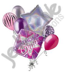 Image is loading 7 pc Happy Birthday Diva Balloon Bouquet Party