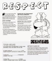 Respect Coloring Pages Sheets Free Sheet