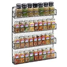 Amazon 4 Tier Country Metal Chicken Wire Spice Rack from 1790