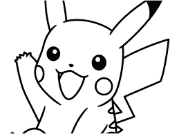 Pokemon Pikachu Coloring Pages To Print Download By Online