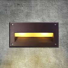 led recessed wall light outdoor waterproof ip54 modern wall l