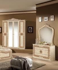 kommode lucia mit spiegel in beige für das schlafzimmer
