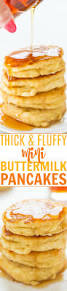 Bisquick Pumpkin Puff Pancakes by Thick And Fluffy Mini Buttermilk Pancakes Averie Cooks