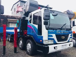 Daewoo 15 Tons Boom Truck/Cargo Crane Truck Korean Surplus ...