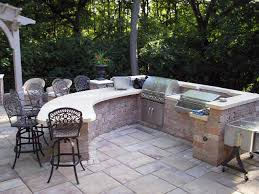 Outside Patio Bar Ideas by Outdoor Stone Grills Outdoor Grill Design Ideas Outdoor Bar And