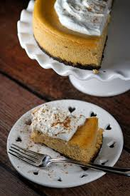 Pumpkin Cheesecake Gingersnap Crust Bon Appetit by Pumpkin Cheesecake Recipe Recipe