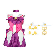 100 Star Lux US 1389 25 OFFGame LOL New Skin Cosplay Costume For Girls The Lady Of Luminosity Cosplay Clothing Halloween Costumesin Babydolls