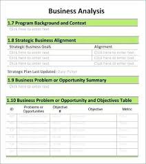 Pci Dss Gap Analysis Report Template Unique Business Analyst Documents Templates Word Excel