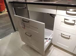ikea kitchen sink cabinet marvellous ideas 19 how ikea trash bin